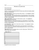 Literacy Task Words with au, aw, al, a, and o and Irregular Action Verbs