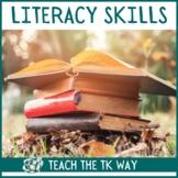 Literacy Activities for PreK