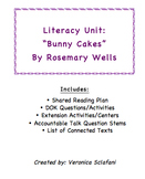 "Literacy Unit: ""Bunny Cakes"" by Rosemary Wells"