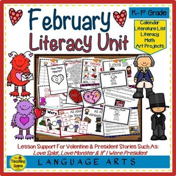 Literacy Unit:  February