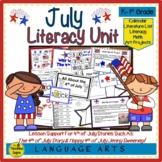 Literacy Unit:  July