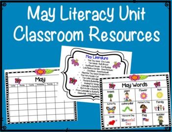 Literacy Unit:  May