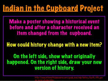 Literacy Unit for Indian in the Cupboard (Chapters 1-8)