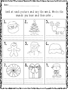 Literacy Winter Packet