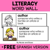 Word Wall - Literacy Vocabulary