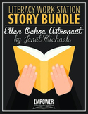 "Literacy Work Station Story Bundle: ""Ellen Ochoa Astronaut"