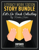 "Literacy Work Station Story Bundle: ""Let's Go Rock Collect"