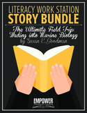"Literacy Work Station Story Bundle: ""The Ultimate Field Tr"