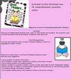 Literacy Work Station Task Cards: Bloom's Taxonomy Questions
