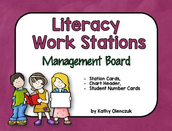 Literacy Work Stations - Management Board