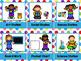 Monster Theme Classroom Decor Workstation Cards