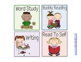 Literacy Workstation Labels