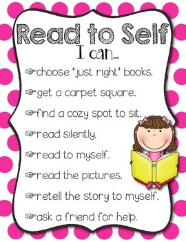 Literacy Workstation Posters