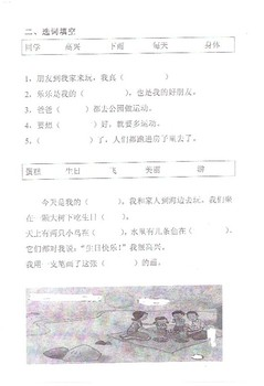 Literacy- Xuele Chinese Quizzes