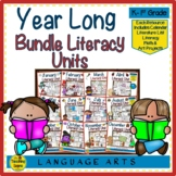 Year Long Literacy Bundle