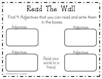 Literacy and Grammar!