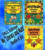 Literacy and Math Activities Galore - Fall Bundle - CCS Aligned