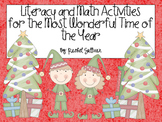 Literacy and Math Activities for the Most Wonderful Time o