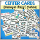 Literacy and Math Center Rotation Board   Center Signs EDITABLE