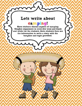 Literacy and Math Centers Common Core ( Lets Go Camping!)