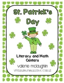Literacy and Math Centers for St Patricks Day