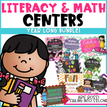 Year Long Literacy and Math Centers
