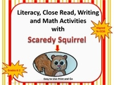 Literacy and Math Fun with Scaredy Squirrel