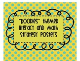 Literacy and Math Station Strategy posters and small group signs