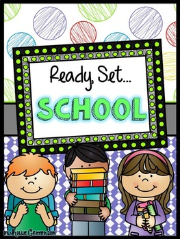 Literacy and Math Stations {Ready, Set, SCHOOL!}