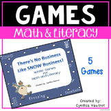 Literacy and Math Unit - No Business Like SNOW Business