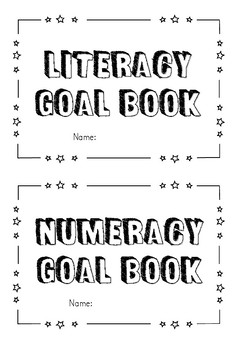Literacy and Numeracy Goal book covers