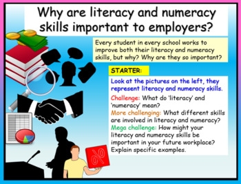 Literacy and Numeracy Skills - Careers