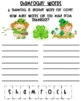 Literacy and Writing Activity: St Patrick's Day Fun