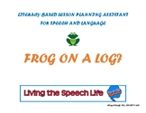 Literacy-based lesson plan assistant (mixed groups) - Frog