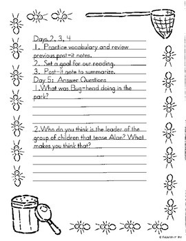 Literacy by Design Leveled Reader Pack-No Prep! Bug-head and Me-N