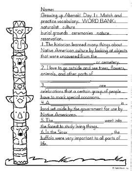 Literacy by Design Leveled Reader Pack-No Prep! Growing up Abenaki-M