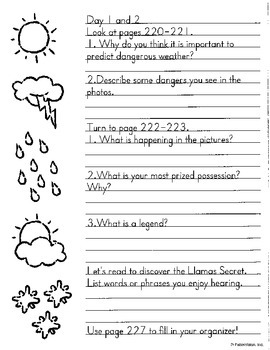 Literacy by Design Theme 8 Whole Group Guide-NO Prep!  3rd grade