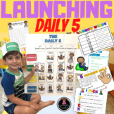 LAUNCHING LITERACY CENTERS OR DAILY 5  FOR FIRST AND SECOND GRADE