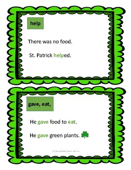 Literacy in Special Education: The St. Patrick's Day Story