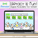 Literacy is Fun! Seesaw Activities for Winter
