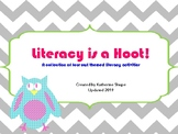 Literacy is a Hoot (Owl themed Literacy Centers)