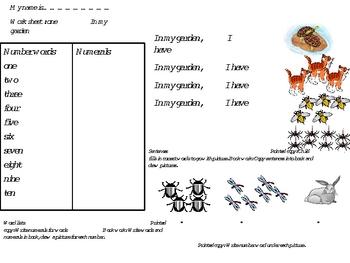 Literacy sight words
