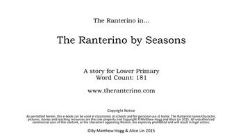 Literacy, sight words, high-frequency words with The Ranterino by Seasons