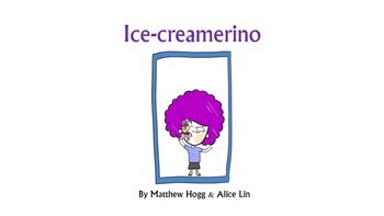 Literacy, sight words, high-frequency words with Ice-creamerino