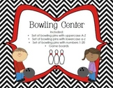 Literacy/Math Bowling Center