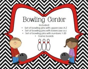 Literacy/Math Bowling Center