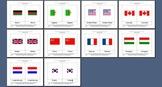 Literacy/Vocabulary/Montessori Nomenclature Cards: Country Flags - 1