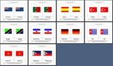 Literacy/Vocabulary/Montessori Nomenclature Cards: Country Flags - 2