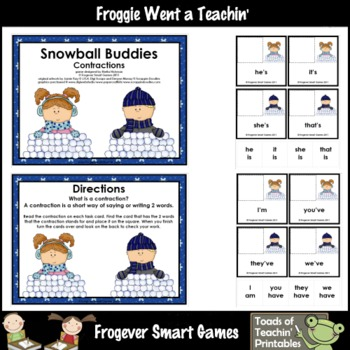 Contractions--Snowball Buddies