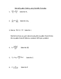 Literal Equations Solving for Algebra and Science